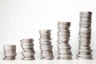 Coins - high, higher, highest - price of silver money