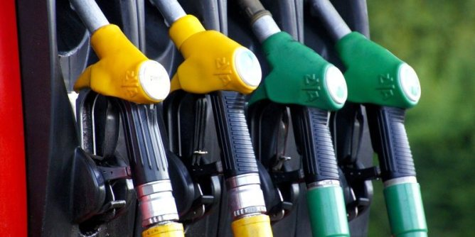 Energy stocks—Gas station fuel pistols