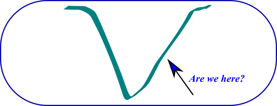 V-Shaped recovery from crisis