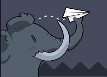 A Mastodon social site design element