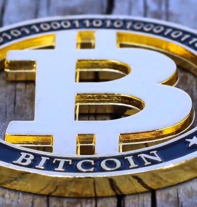 Bitcoin commemorative coin