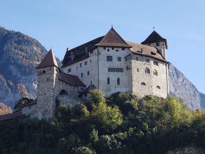 Castle in Vaduz, Liechtenstein