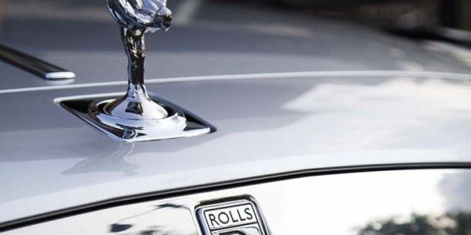 A Rolls Royce, the car of the billionaires