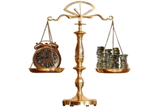 Time and money on the balance