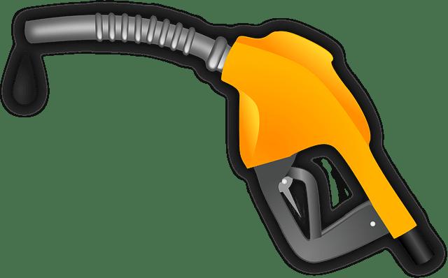 Gas station gas pistol