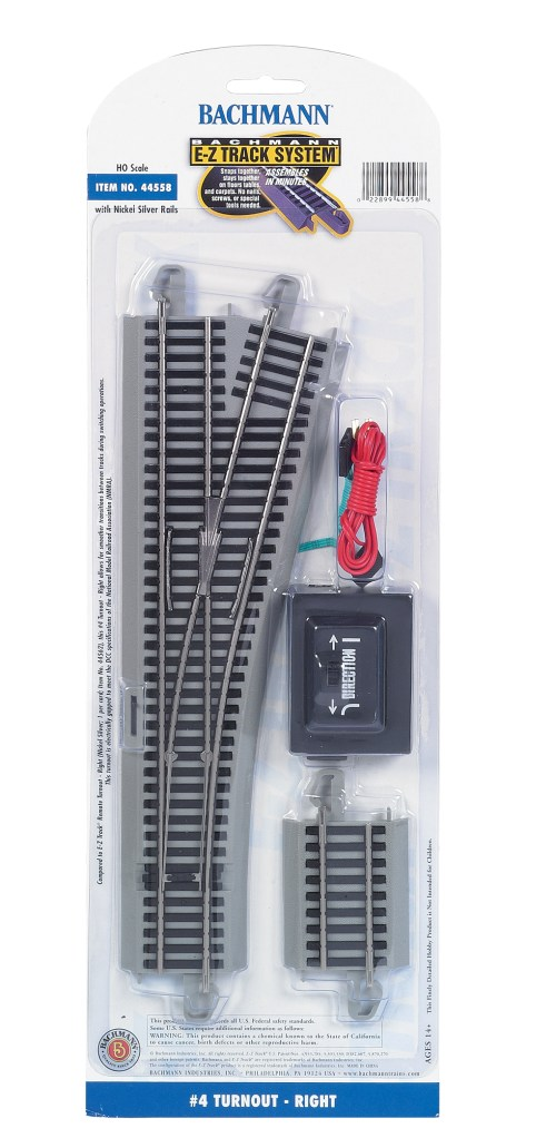 small resolution of  4 turnout right ho scale