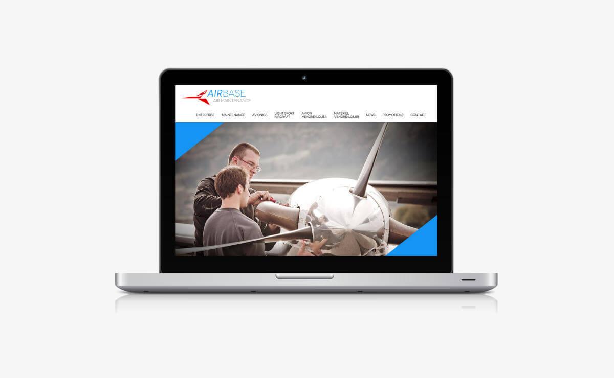 Création du site internet Wordpress d'Airbase à Lausanne (VD)