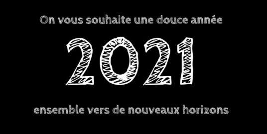 Voeux de la ville de Saint-Jean-De-Monts pour l'année 2021