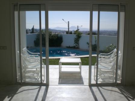 A vendre Villa S4 avec piscine Gammarth Superieur
