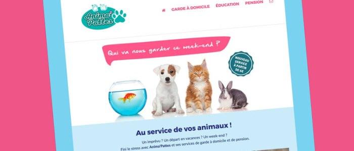 Site web de l'entreprise Anima'Pattes à Albi dans le Tarn