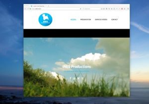 SIte web de INES Productions