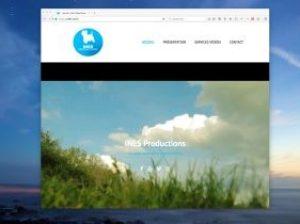 SIte web de INES Productions