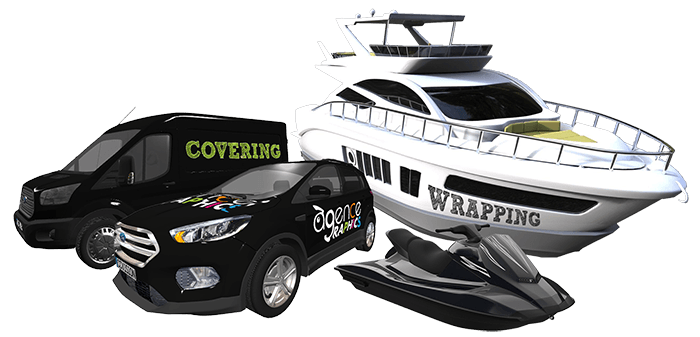 COVERING - WRAPPING - VEHICULE - BATEAU - JET SKI