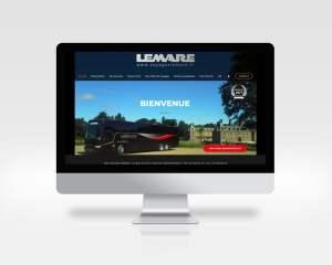 Site internet Voyages Lemare