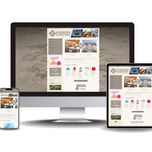 Site internet Maisons d'histoire