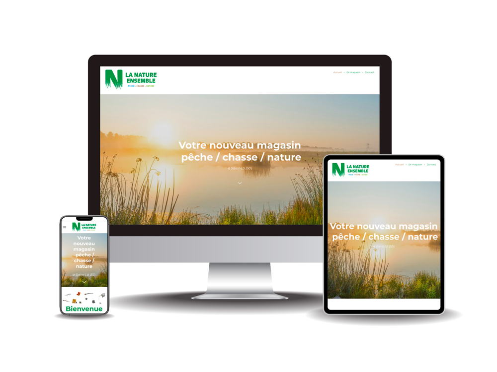 Site internet La Nature ensemble