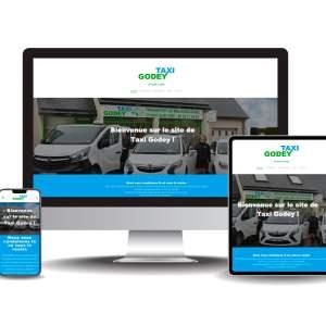 Site internet Taxi Godey