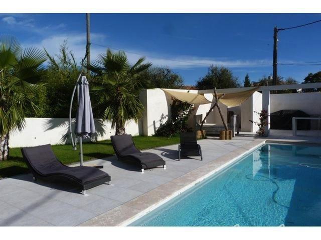 Hauteur de Nice St Antoine de Ginestire maison darchitecte contemporaine avec piscine Vente
