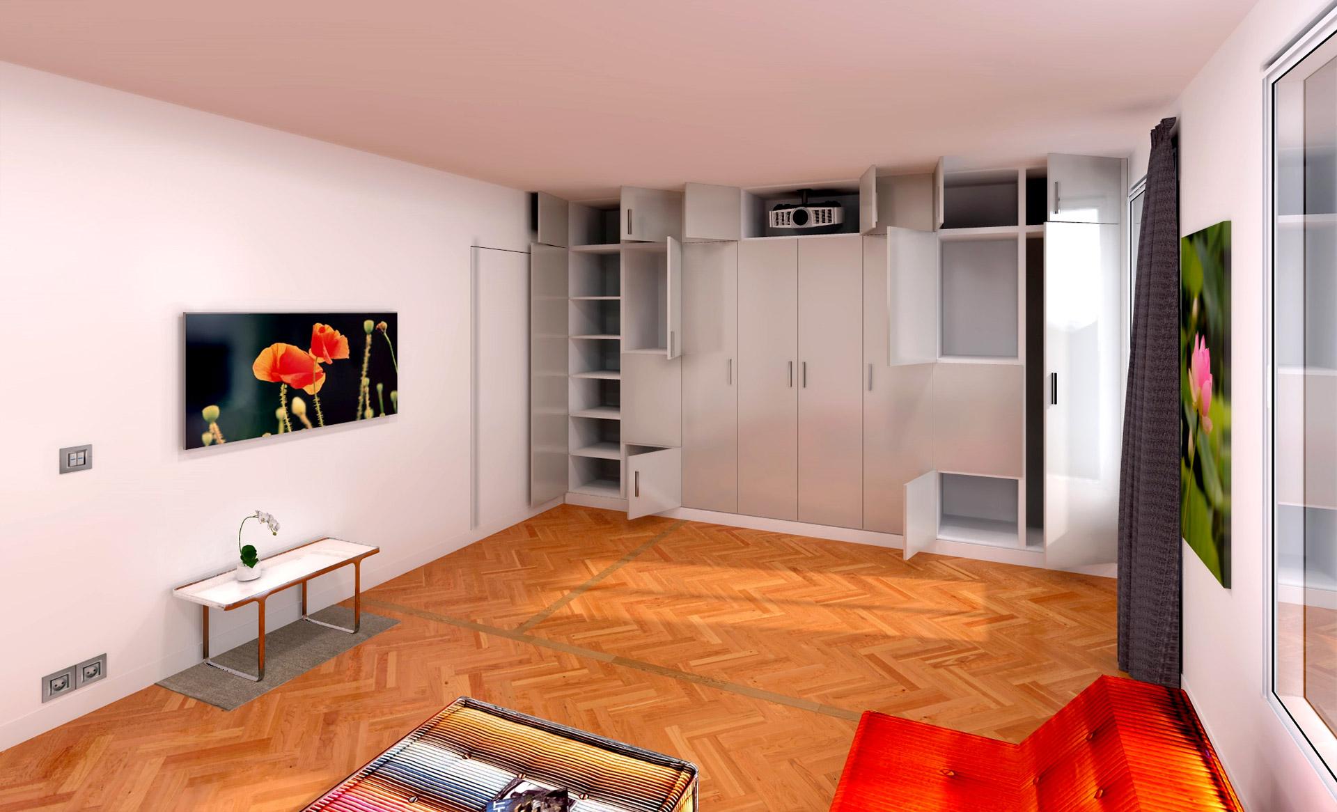 Duplex Avec Suite Parentale Zen Transformable Salle Cinma