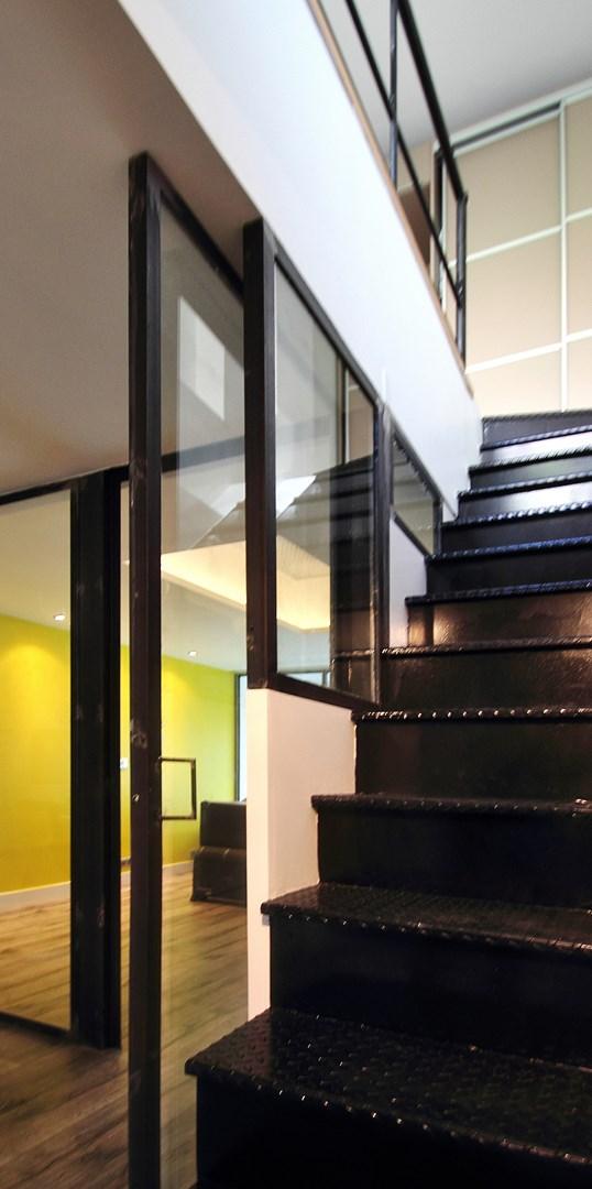 Loft industriel rorganis sur 4 plateaux architecte dintrieur