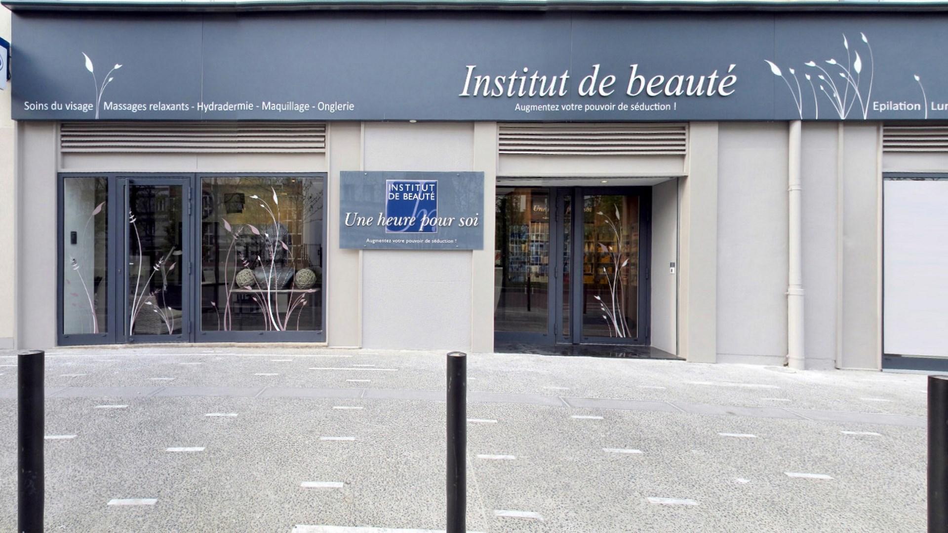Cration du concept architectural institut de beaut Une heure pour soi Rueil Malmaison