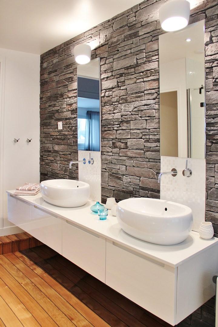 Rnovation zen maison typique annes 70 agence architecte intrieur