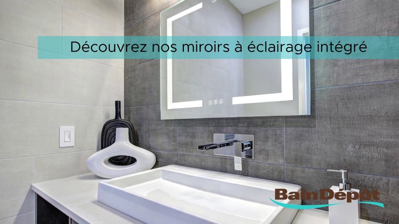 Bain Depot Miroir De Salle De Bain A Eclairage Integre Et Horloge A Miroir Salle De Bain Avec Eclairage Integre Agencecormierdelauniere Com Agencecormierdelauniere Com