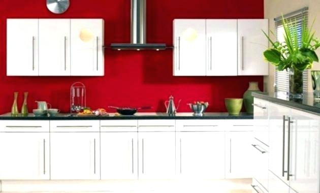meuble cuisine ikea abstrakt rouge