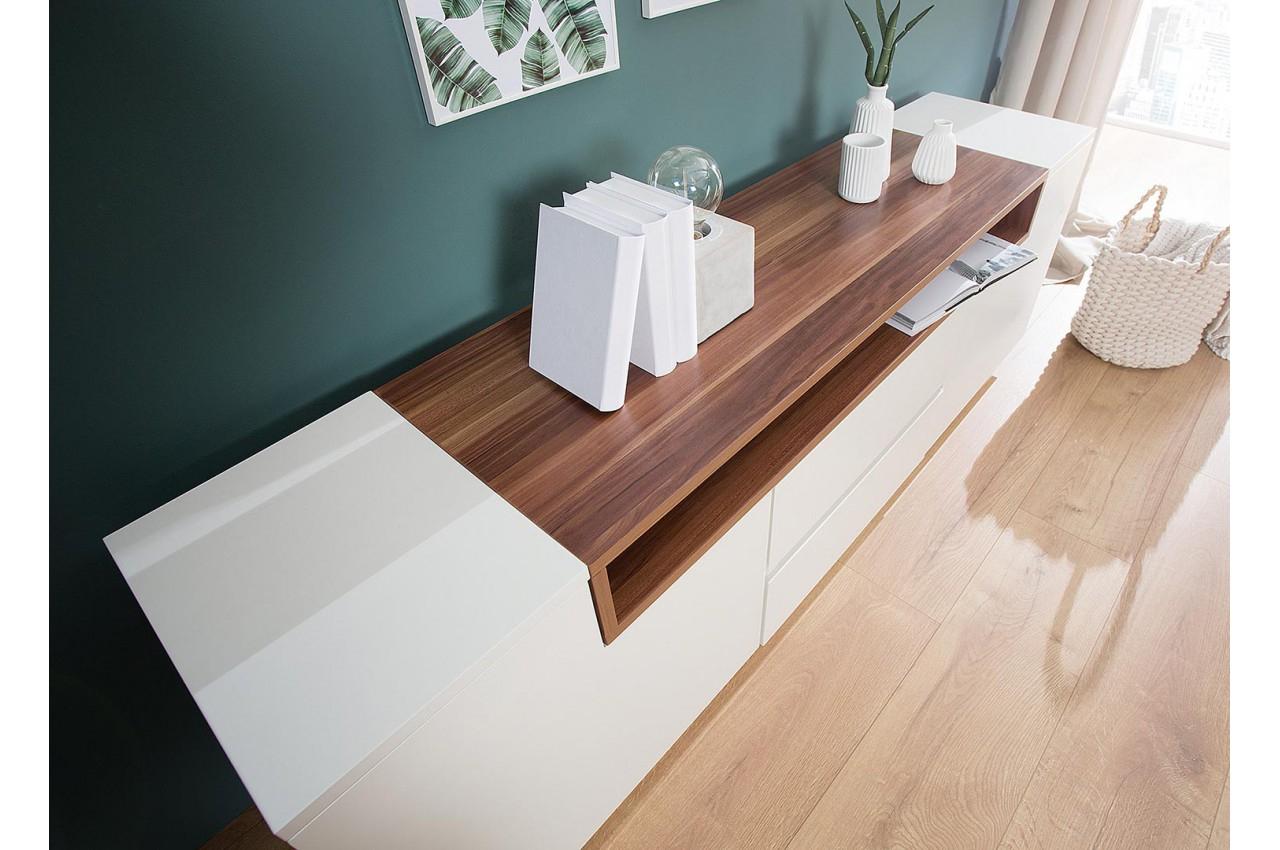 meuble tv haut design 180 cm avec