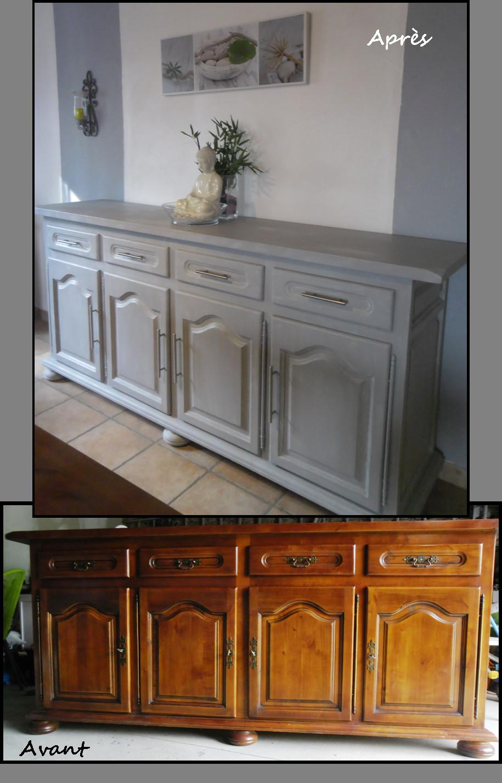 peindre un meuble en bois vernis sans