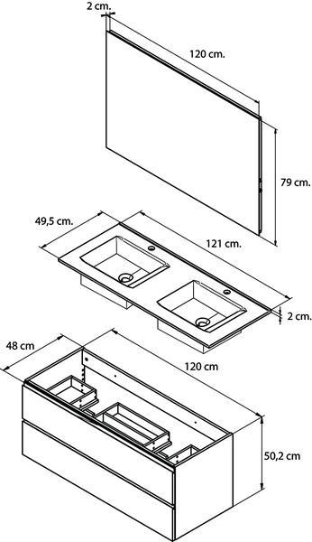Vente En Ligne De Meuble Double Vasques 120 Cm Avec Miroir Dedans Double Vasque 110 Cm Agencecormierdelauniere Com Agencecormierdelauniere Com