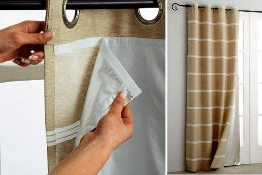 tout tissus pour double rideaux