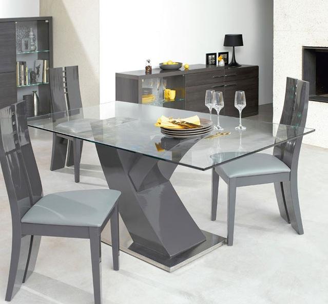 conforama table en verre table de lit