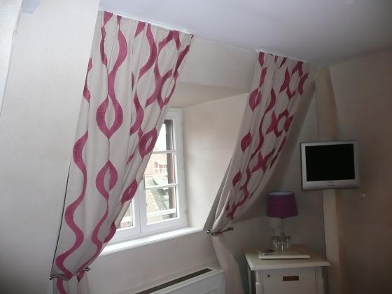 decoration rideaux pour velux