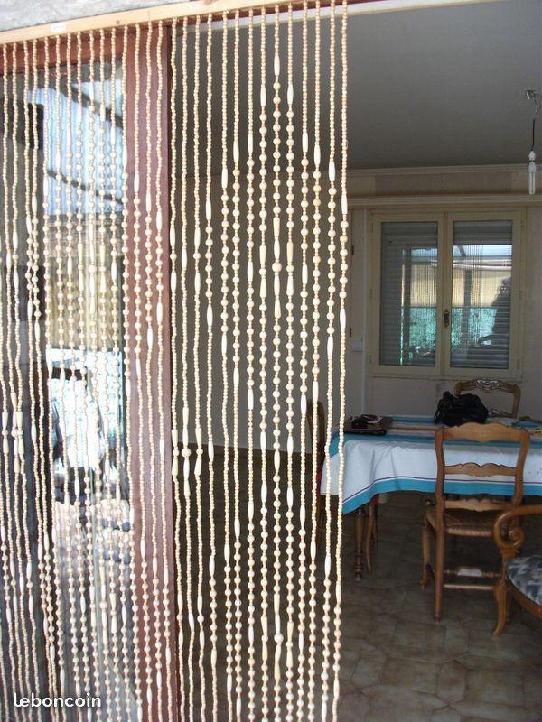 rideaux de perles pour portes