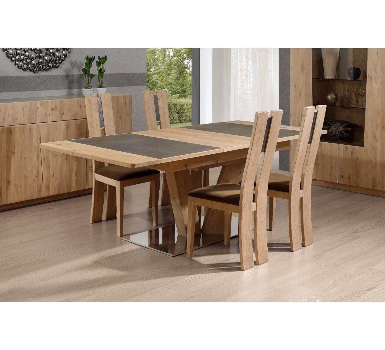 table cuisine bois et ceramique