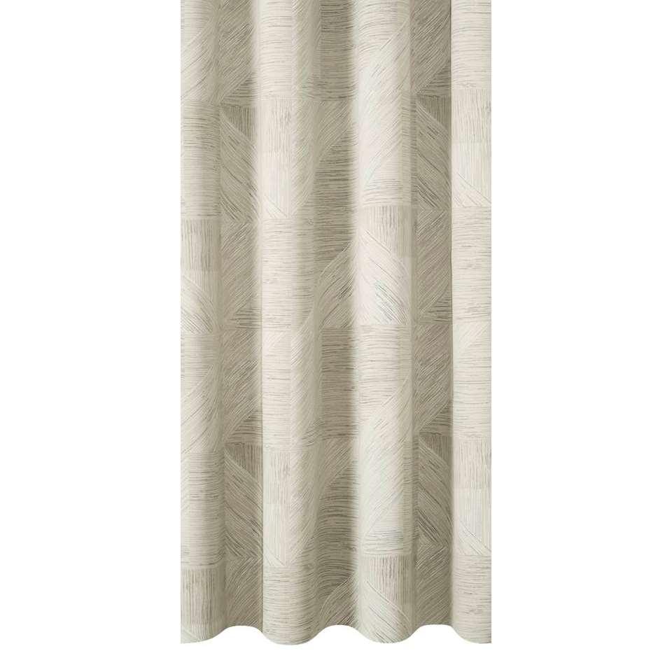 tissu pour rideaux leeds gris clair