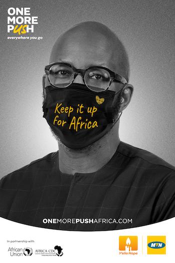 africa cdc et mtn accelerent la lutte contre la covid 19 avec la campagne one more push 1