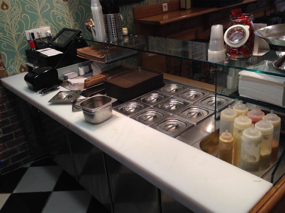 etagere inox cuisine professionnelle