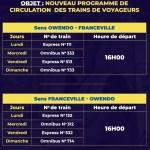 Gabon : la Setrag annonce un nouveau programme de circulation des trains