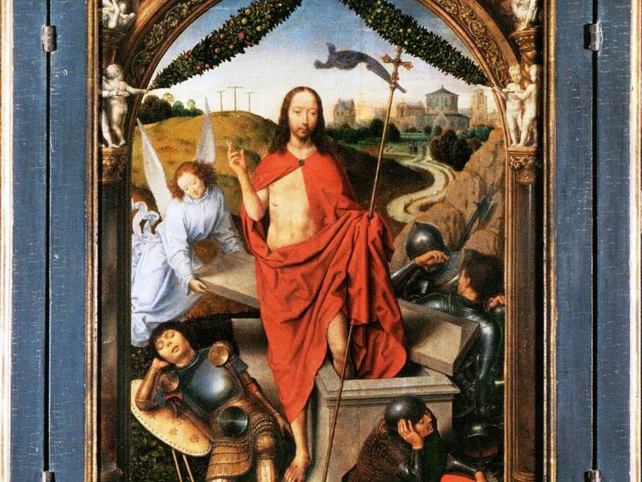 Resultado de imagem para imagem da ressurreição de cristo - no vaticano