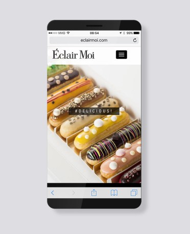Blank Agência Criativa - E-Commerce / Loja Virtual - Éclair Moi