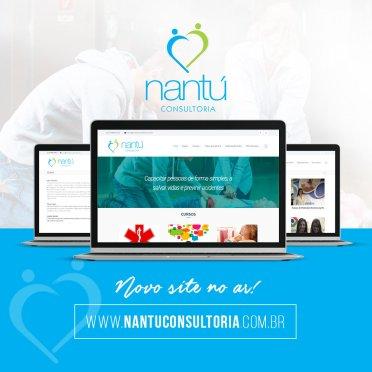 Blank Agência Criativa - Gestão de Redes Sociais - Nantú Consultoria – Campanha out. 2018