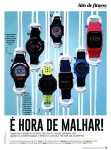 Assessoria de Imprensa Moda: Relógios na Revista Corpo a Corpo
