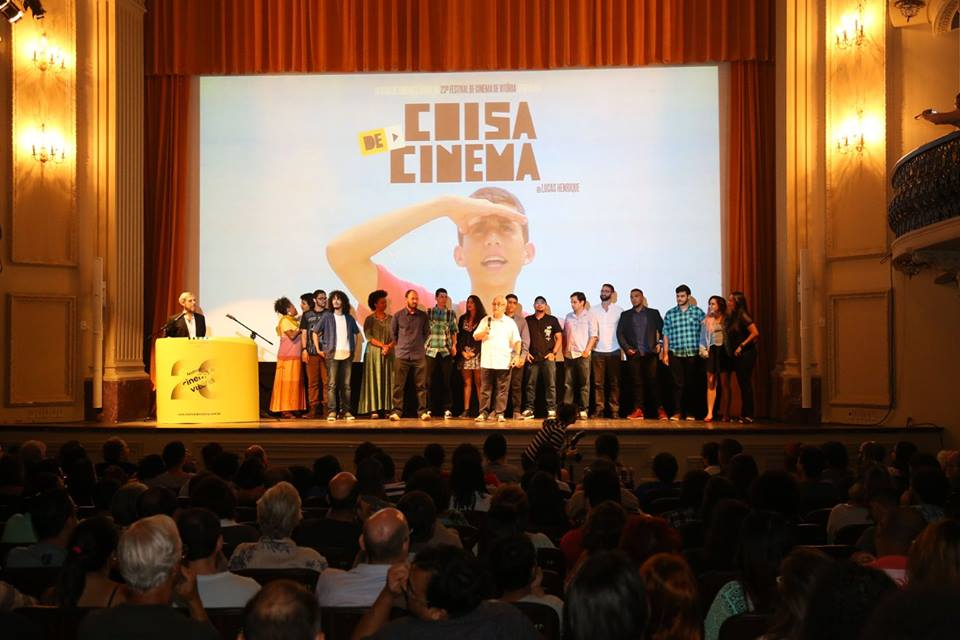 Estreia do filme no festival de cinema
