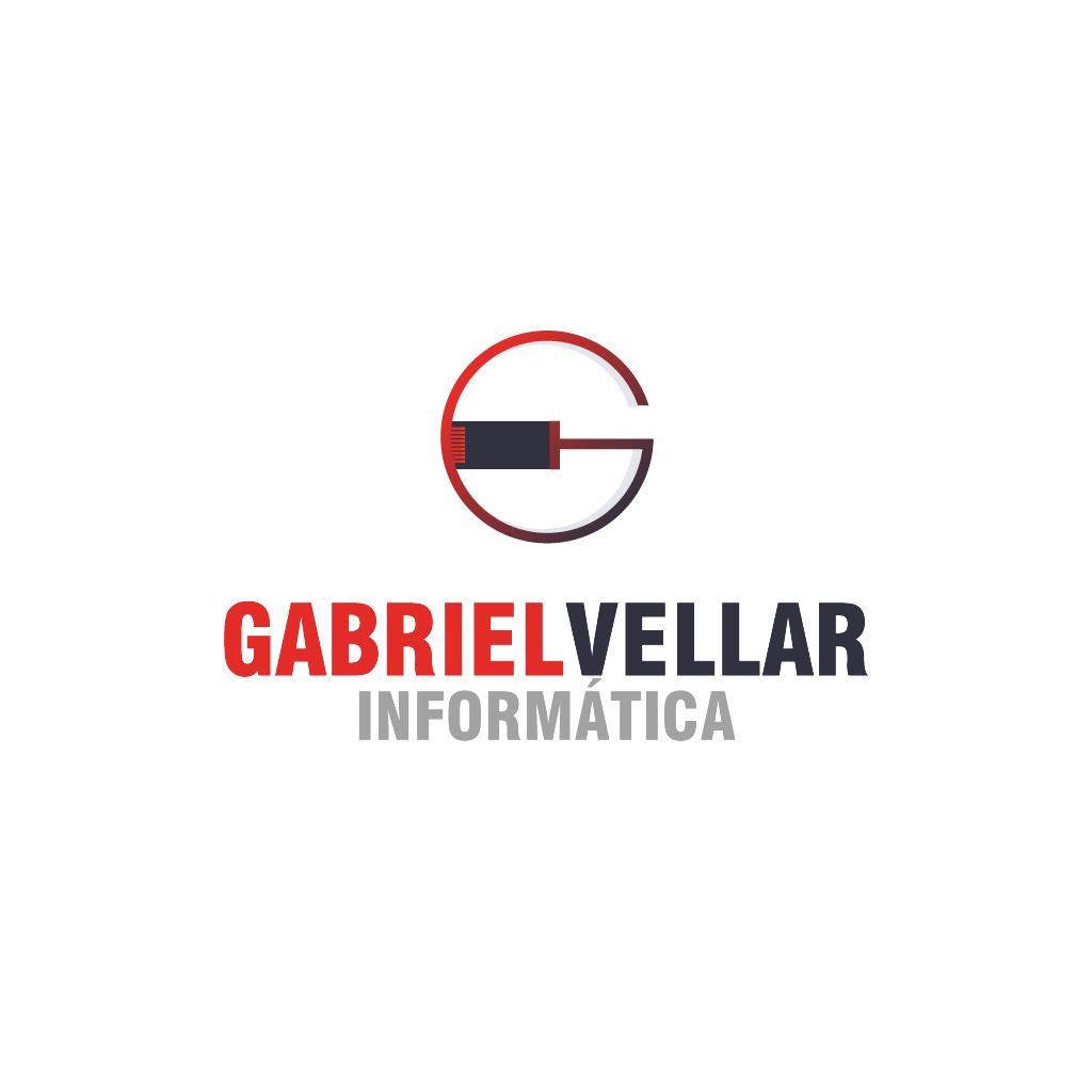 Criação de Logotipo - Gabriel Vellar Informática - Pelotas