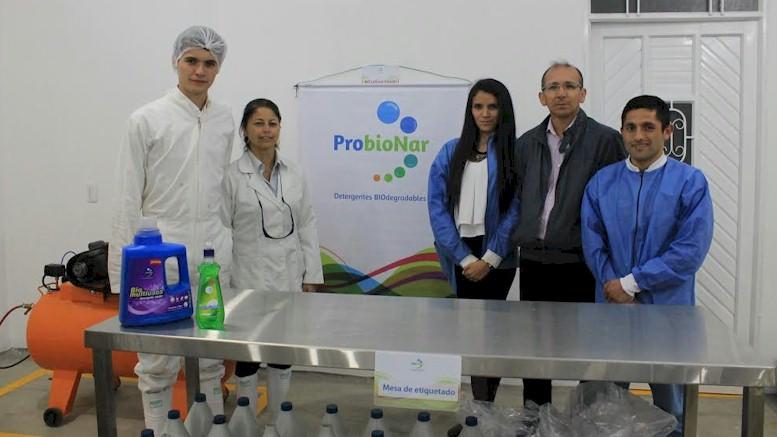 Probionar:  Emprendimiento nariñense que se abre paso a punta de detergentes biodegradables