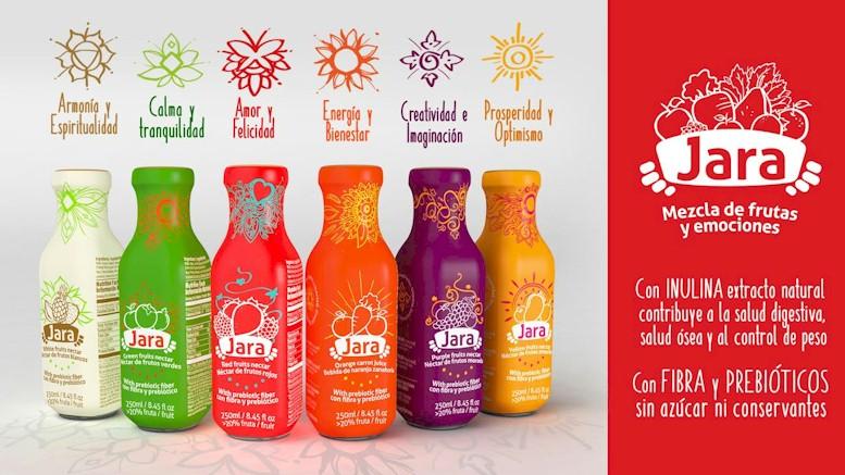 Jugos Jara: Delicias frutales empacadas con pasión y color