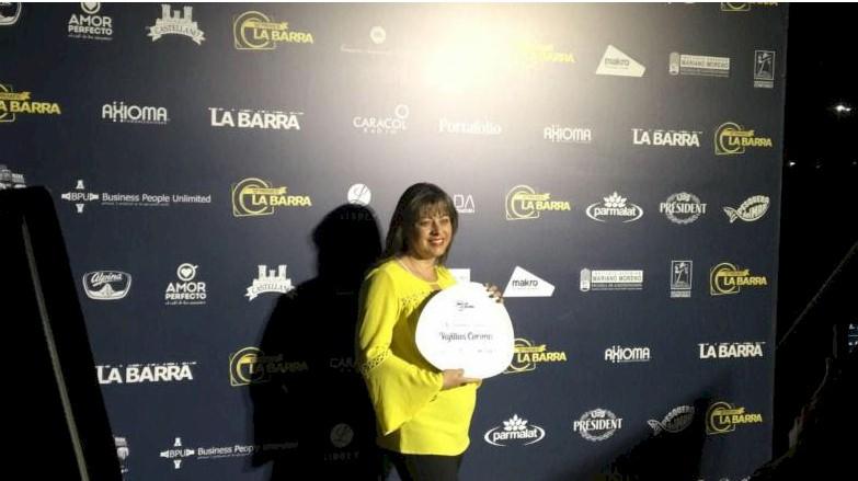 Vajillas Corona recibe premio como el Mejor Proveedor de Productos Nacionales Table Top de Colombia