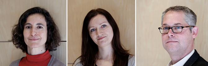 Alicia_Arroyo, Anna Kwasniewska y Erik Bush. / SINC